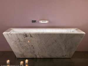 Stone Forest Rubix Freestanding Bathtub