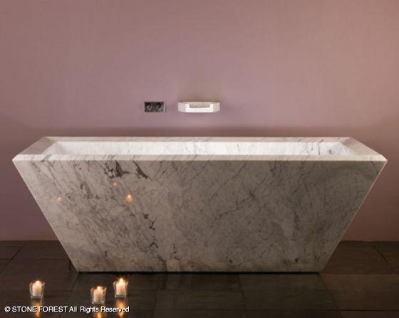 Stone Forest Rubix Freestanding Bathtub