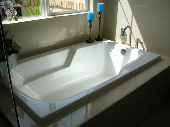 Hs Solo Rectangular Bathtub