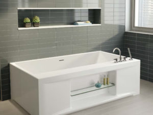 Sonette One Wall Style Bathtub