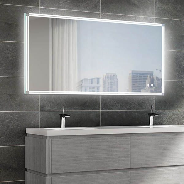 The Sanctuary Illuminated Slique Logo Mirror Collection