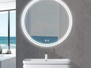 The Lunar Illuminated Slique Logo Mirror Collection