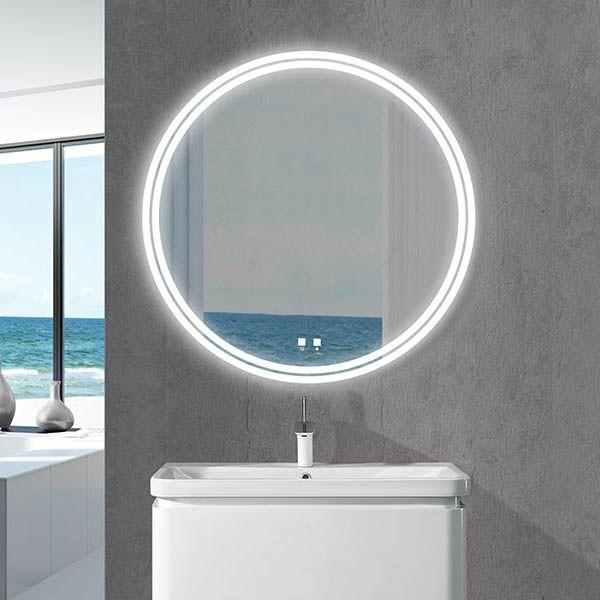 The Lunar Illuminated Slique Logo Mirror Collection