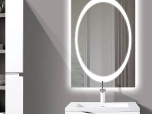 The Muse Illuminated Slique Logo Mirror Collection