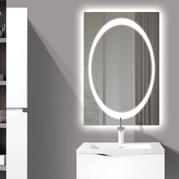The Muse Illuminated Slique Logo Mirror Collection