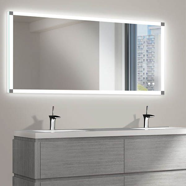 The Tranquility Illuminated Slique Logo Mirror Collection