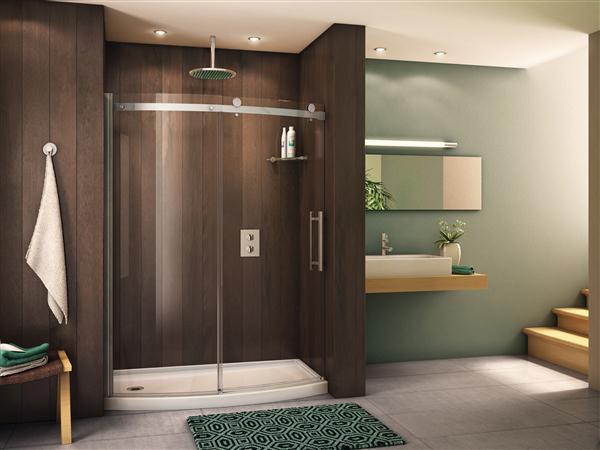 Novara Bowfront Shower Enclosure
