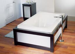 Alcove Acore Podium Bathtub