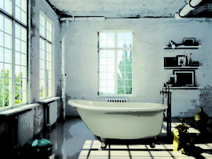 Hs Annette Freestanding Bathtub