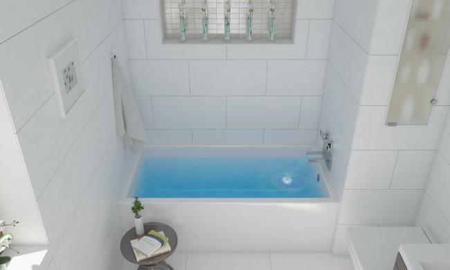 Square Bathroom Sink Drop In