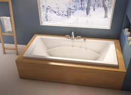 Alcove Caprice Podium Bathtub