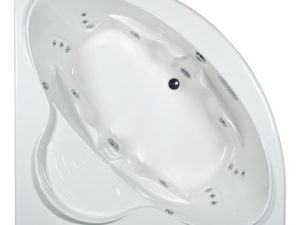 Covington Round Whirlpool Bathtub By Mansfield