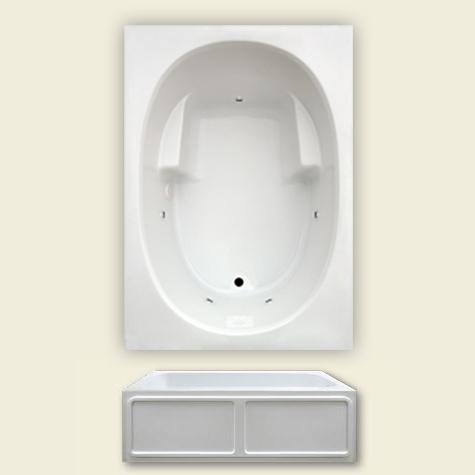 Jetta E-3 Skirted Advantage Baths