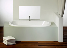 Alcove Eidel Podium Bathtub