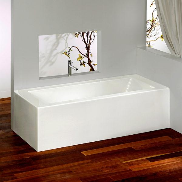 Alcove Flory De Colt Corner Bathtub