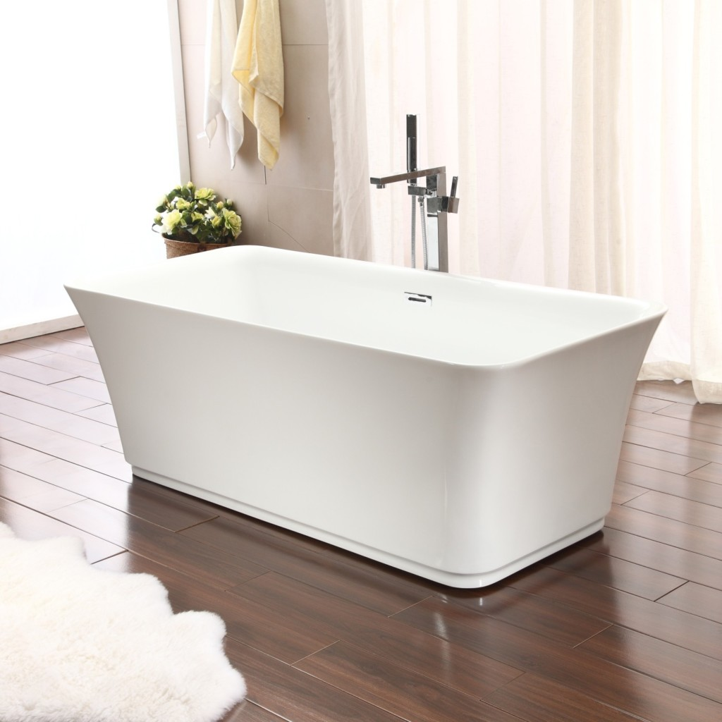 Square Bath Shower Tubs And More Lon Freestanding Bathtub Bundle Save Today