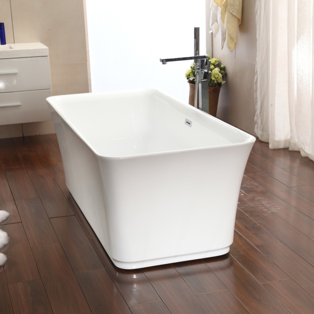 Freestanding bathtubs under 1000 freestanding bathtubs for Pros and cons of acrylic bathtubs