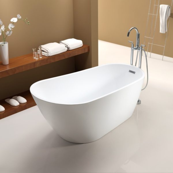 Tubs And More Mal Freestanding Bathtub