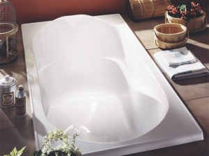 Alcove Hibiscus Podium Bathtub