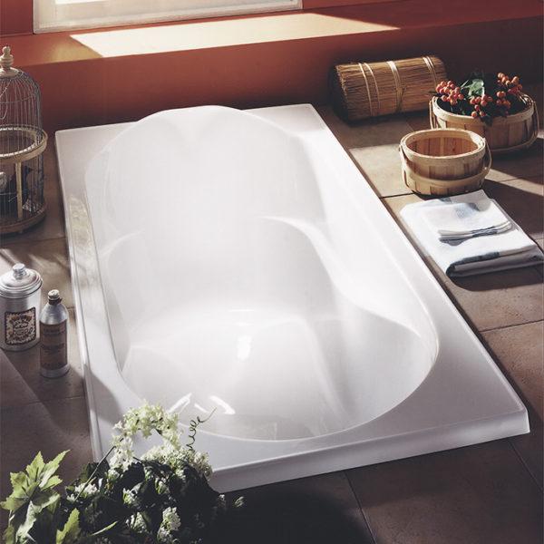 Alcove Hibiscus Podium Bathtub