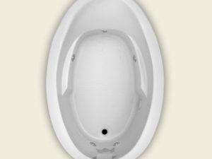 Jetta Bikini J-15 Whirlpool Bathtub