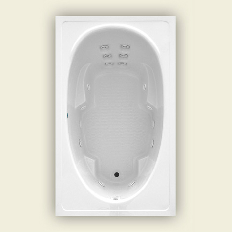Jetta Cayman J-5xp Whirlpool Bathtub