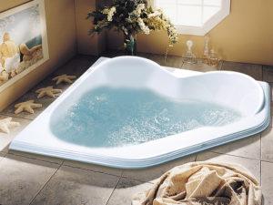 Alcove Jasmin Corner Bathtub