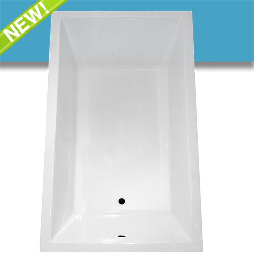 Jetta Affinity Lawrence Rectangular Bathtub