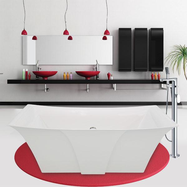 Alcove Lilium Freestanding Bathtub