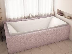 Alcove Lilium Podium Bathtub
