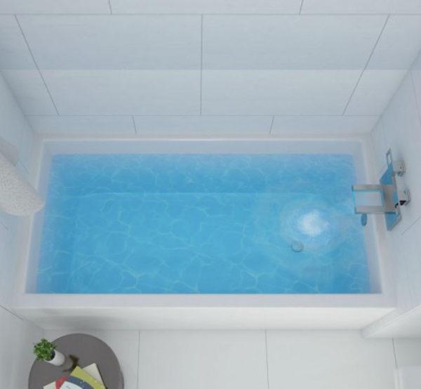 Jetta Loft Alcove Bathtub