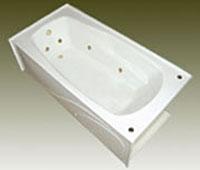 Mansfield Alto 3672 Tfs Rectangular Bathtub
