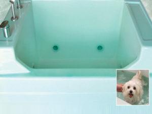 Mti Jentle Pet® 1 Bathtub