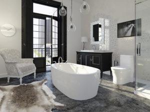 Neptune Vapora Freestanding Bathtub