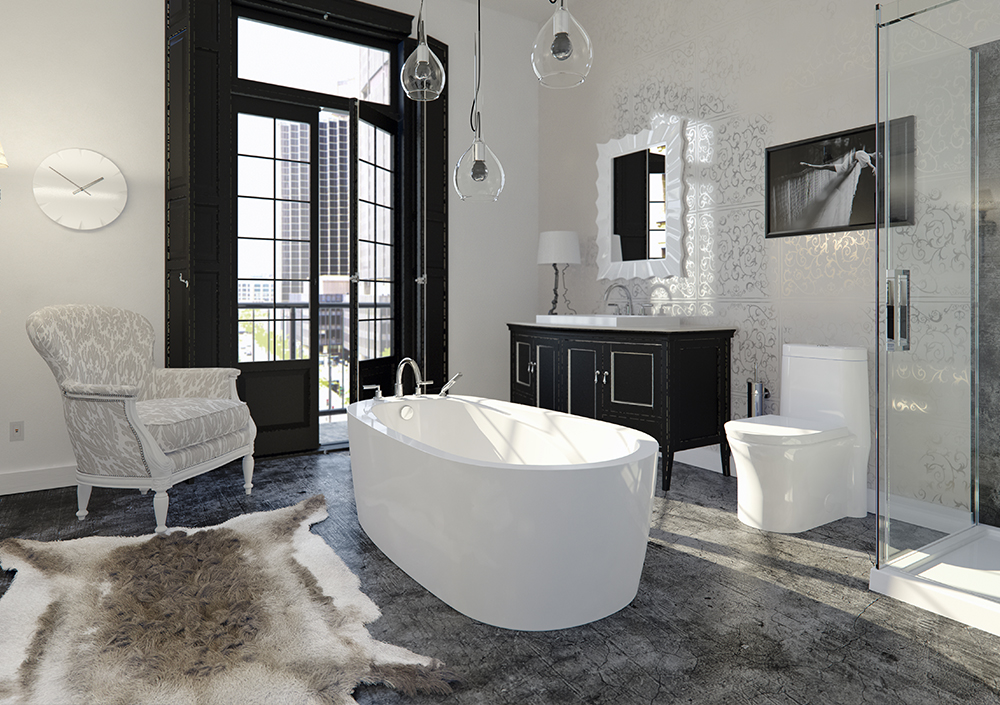 Neptune Vapora Freestanding Bathtub Tubs And More