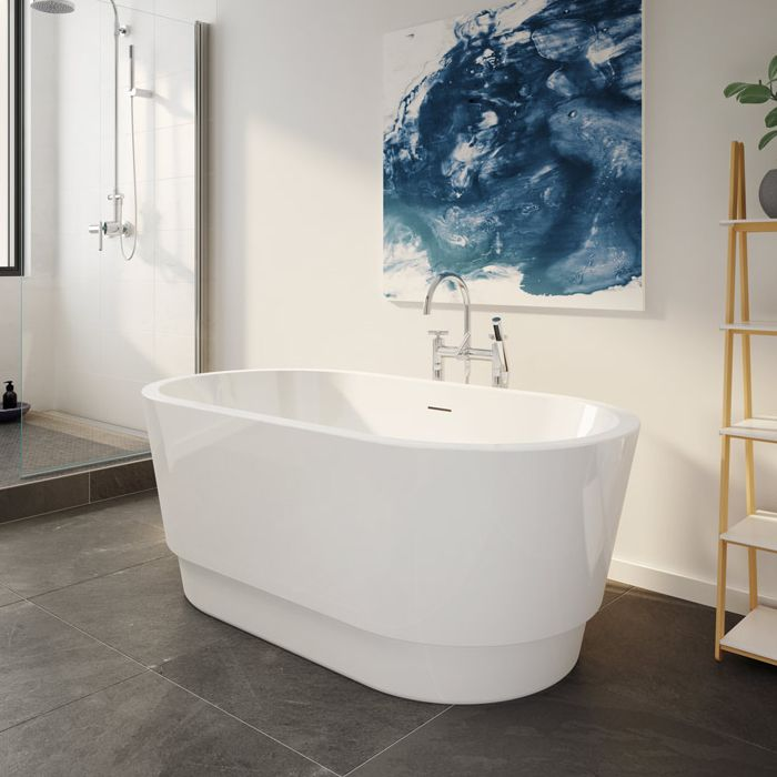 Tubs and More Duet Petite Acrylic Bathtub - Tubs and More