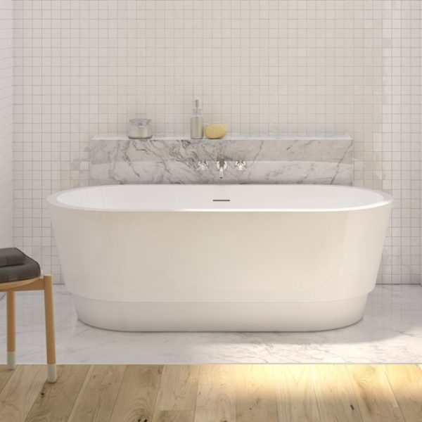 Tubs And More Duet Grande Acrylic Bathtub