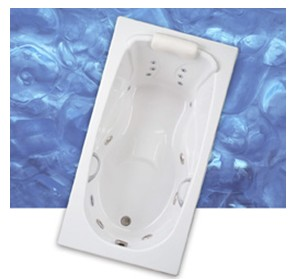 Camden 6032 Whirlpool Bathtub by Mansfield