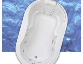 Hampton Oval Air Massage Bathtub By Mansfield