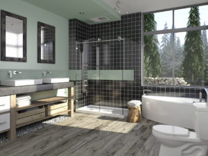 Neptune Wind Corner Bathtub