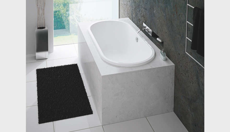 Antibes built in tub tubs more supply 800 991 2284 for Deep built in bathtubs