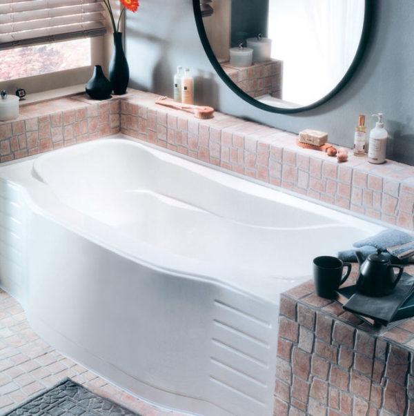 Apollon Alcove Bathtub