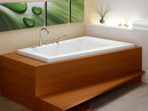 Bora Corner Bathtub