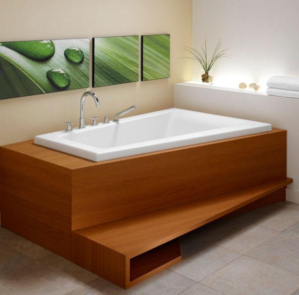 Bora Corner Bathtub