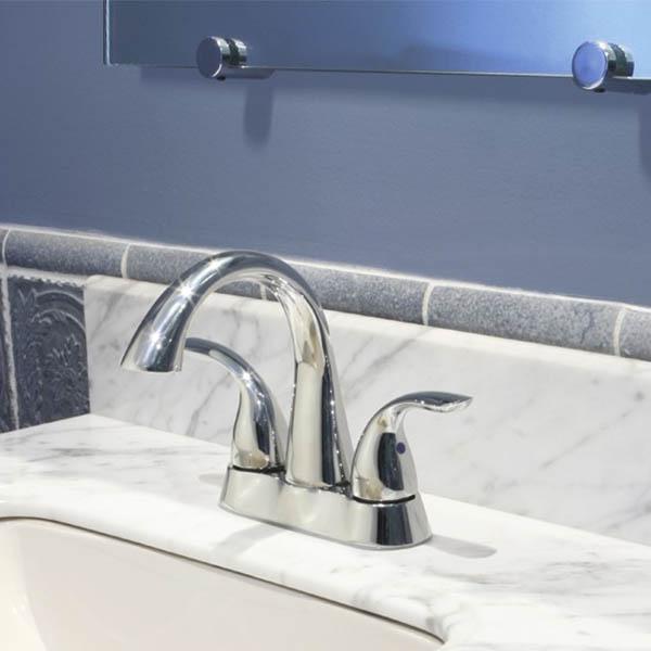Clover Center Set Faucet