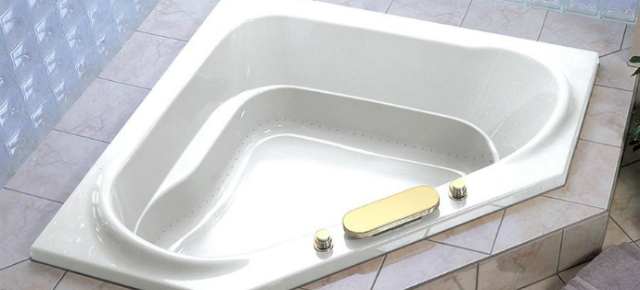 the best corner bathtubs for two-story houses