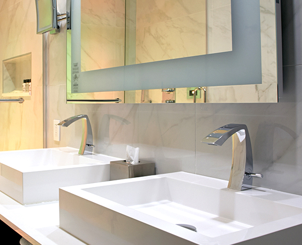 Etna Aquabrass Bathroom Faucet