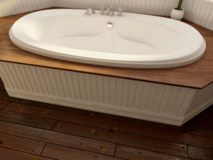 Felicia Oval Bathtub