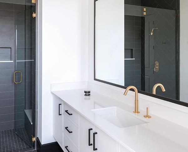 Geo Aquabrass Bathroom Faucet