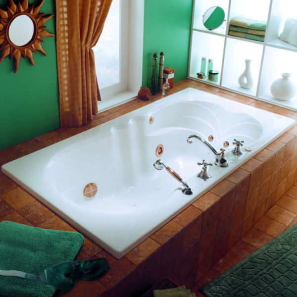 Helena Rectangular Tub